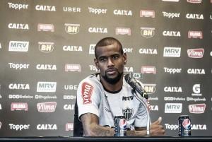 """Felipe Santana vê defesa sólida comoponto crucial para boa fase do Galo: """"Tudo começou a mudar"""""""