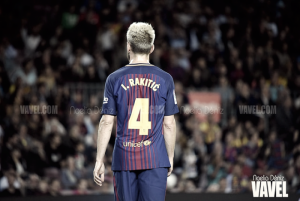 Rakitic se ve incapacitado ante Perú