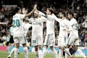 Dosis de alegría en el Bernabéu