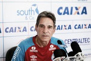 """Carpegiani pede para elenco do Bahia controlar ansiedade: """"Entrega será fundamental"""""""