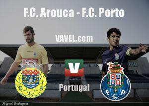 Arouca vs Oporto en vivo y en directo online