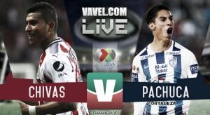 Resultado del Chivas 1-1 Pachuca de la Liga MX 2018