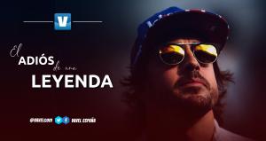 Fernando Alonso, el adiós de una leyenda