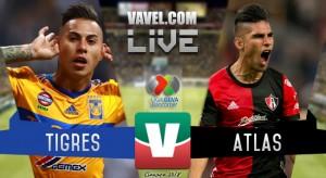 Resultado y goles del partido Tigres vs Atlas en Liga MX 2018 (2-0)