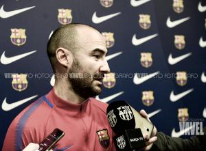 """Fran Sánchez: """"Es un reto jugar ante un rival que está en este nivel de forma"""""""
