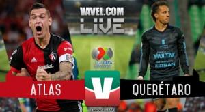 Atlas vence por la mínima al Querétaro (1-0)