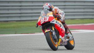 Moto GP Austin, super Marquez precede Dovizioso e Rossi