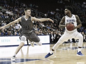 NCCA Basketball: Seton Hall dominate Monmouth Hawks in 75-65 win