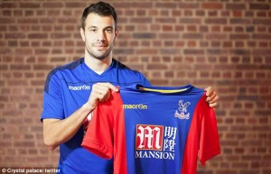 Crystal Palace complete Luka Milivojevic signing