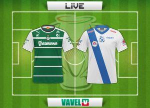Resultado Santos Laguna - Puebla en Copa MX 2014 (2-2)