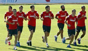 El Atlético de Madrid se pone a punto para el Valladolid