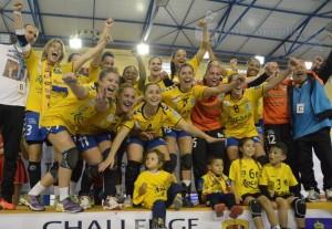 El Rocasa Gran Canaria, campeón de la EHF Challenge Cup