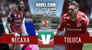 Resultado del partido Necaxa 0-0 Toluca de la Liga MX 2018