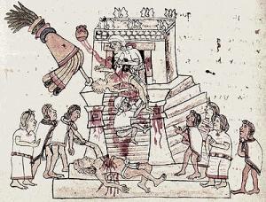 El lado más sanguinario de los mayas