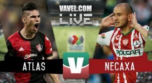 Resultado y goles del partido Atlas 1-1 Necaxa en Liga MX 2018