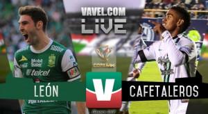 Resultado y goles del León vs Cafetaleros en Copa MX 2018 (4-1)