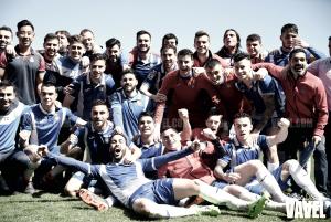 La SD Compostela, rival del Espanyol B en el play - off