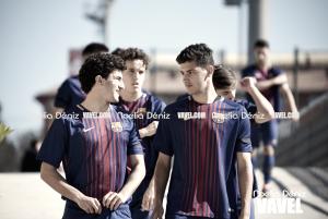 Fotos e imágenes del partido FC Barcelona Juvenil A 3-0 Lleida Esportiu Juvenil, jornada 27 de la División de Honor Grupo 3 2018