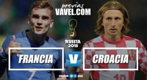 Previa Francia - Croacia: matar o morir por la Copa del Mundo