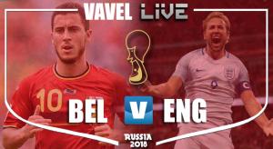 Belgique - Angleterre en direct commenté: Coupe du Monde 2018 (1-0)