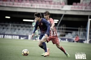 Fotos e imágenes del partido FC Barcelona 1-3 Atlético de Madrid en la vuelta de los cuartos de final de la Copa del Rey Juvenil 2018