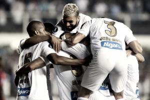 Notas: Copete retorna, Gabriel encerra jejum, na vitória do Santos sobre Estudiantes