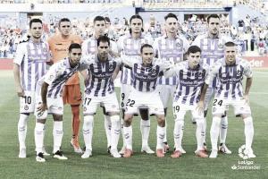 Getafe - Valladolid, puntuaciones del Real Valladolid en la jornada 3