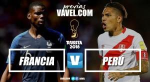 Previa Francia - Perú: Un paso más para acercarse a los octavos
