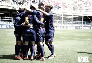 Resumen FC Barcelona 1-3 Atlético de Madrid en la vuelta de los cuartos de final de la Copa del Rey Juvenil