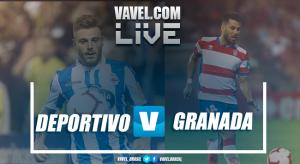 Deportivo de la Coruña vs Granada en vivo y en directo online en Segunda División 2018