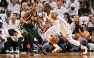 Allen sets 3-point record as Miami take a 3-0 series lead