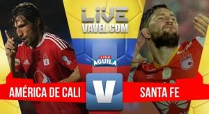 América de Cali vs Santa Fe en vivo online por la Liga Águila 2017 (0-0)