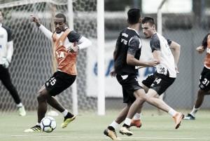 Jair deve repetir escalação do Santos pela quarta partida consecutiva contra Internacional