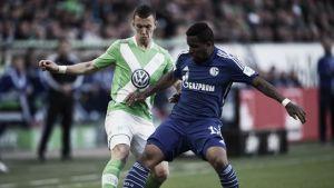 Wolfsburg para em grande atuação de Fahrmann e fica no empate com Schalke 04