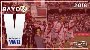 Resumen de la temporada 2017/2018: Rayo Vallecano, la franja está de vuelta