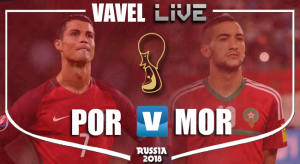 Resumen Portugal 1-0 Marruecos en Mundial Rusia 2018