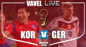 Resumen Corea del Sur 2-0 Alemania en Mundial Rusia 2018