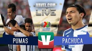 Resumen Pumas 0-0 Pachuca en Liga MX 2018