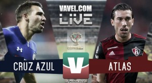 Resultado y goles del Cruz Azul (2-2) Atlas