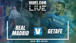 Resumen Real Madrid 2-0 Getafe en LaLiga 2018/2019
