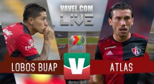 Resumen Lobos BUAP 0-0 Atlas en Liga MX 2018