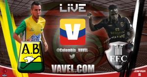 Atlético Bucaramanga vs Fortaleza en el Torneo Águila 2015-I (4-1)