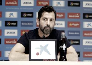 """Quique Sánchez Flores: """"Hemos podido disfrutar y hemos hecho felices a nuestros aficionados"""""""