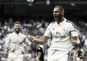Benzema se reencuentra con el gol cuatro meses después