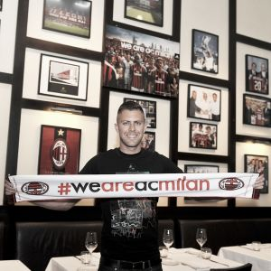 Jérémy Ménez, nouvelle recrue de l'AC Milan