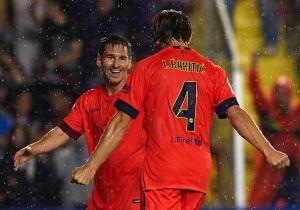 VIDEO Messi - Neymar, è un grande Barcellona