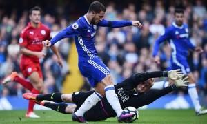 Premier League, Conte travolge Ranieri: 3-0 Chelsea sul Leicester