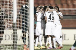 Sem dificuldades, Santos derrota Goiás no Pacaembu