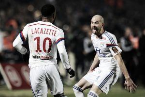 Lyon goleia Bordeaux fora de casa e encerra 2014 na segunda colocação