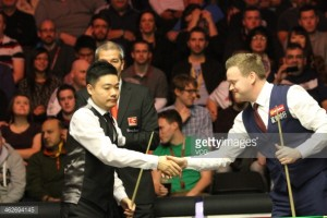 Ding and Murphy out of Northern Irish Open debut